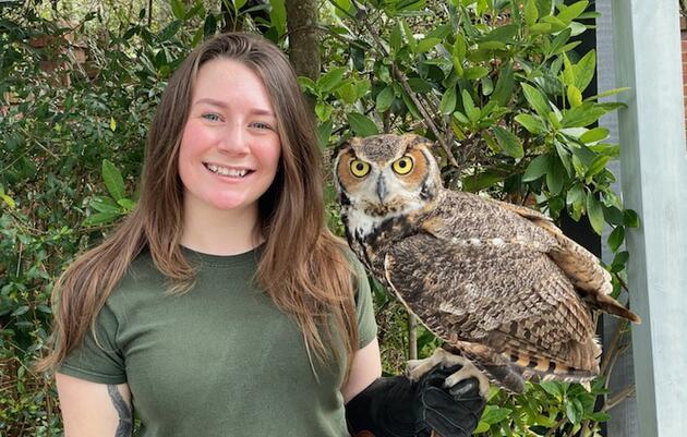 Tabitha Smith, Raptor Care Specialist
