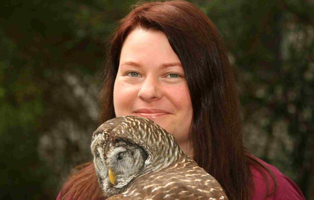 Beth Lott, Raptor Clinic Technician/Volunteer Coordinator