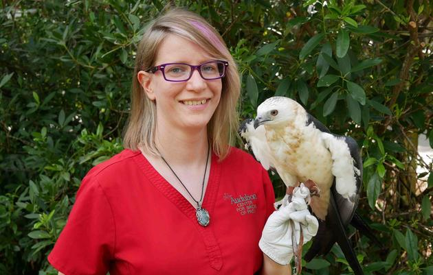 Samantha Little, CVT, Raptor Clinic Technician