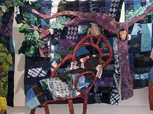 Fiber Artist Draws Inspiration from Raptors at the Center for Birds of Prey in New Quilt Collection