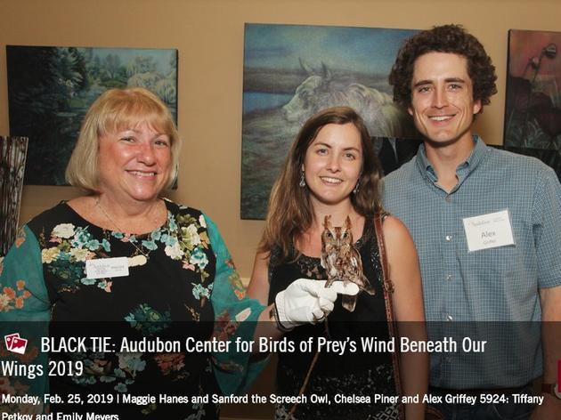 BLACK TIE: Audubon Center for Birds of Prey Wind Beneath Our Wing 2019